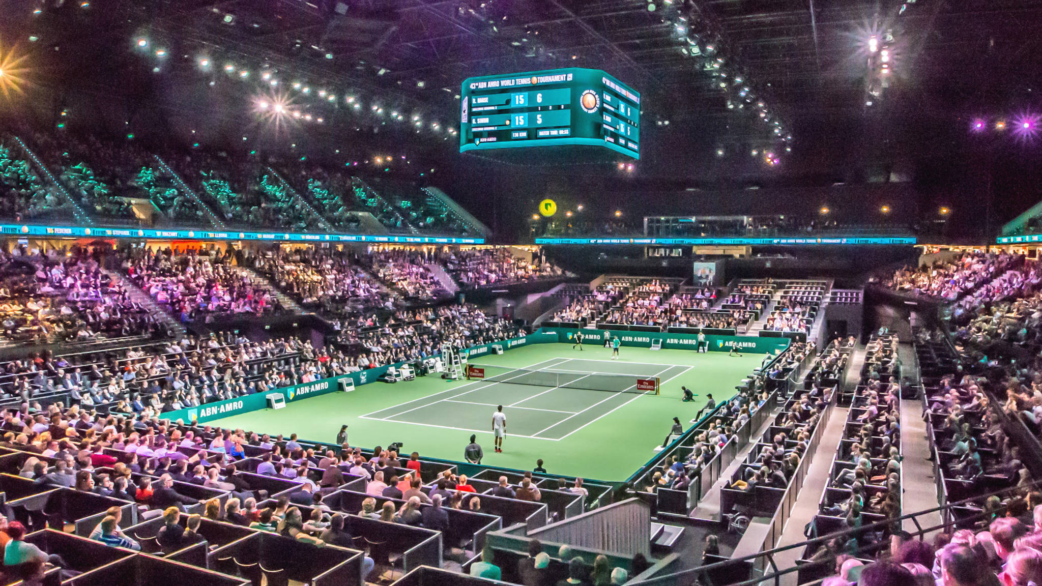 Foto: ABN AMRO Tennis Tournament